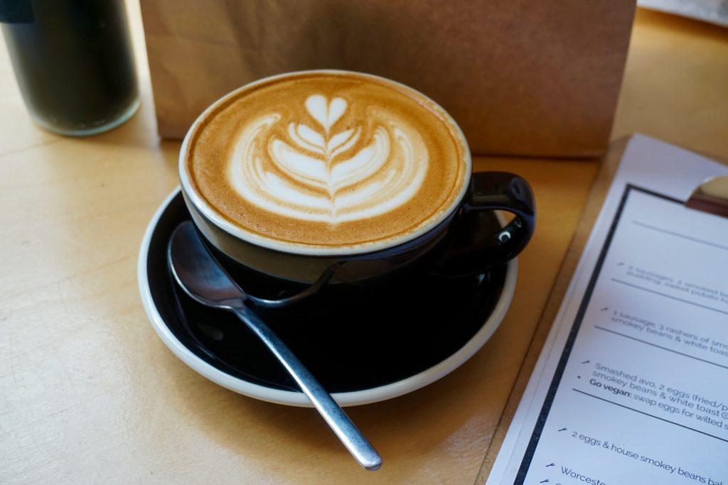 Latte - Brunch at Wayland's Yard