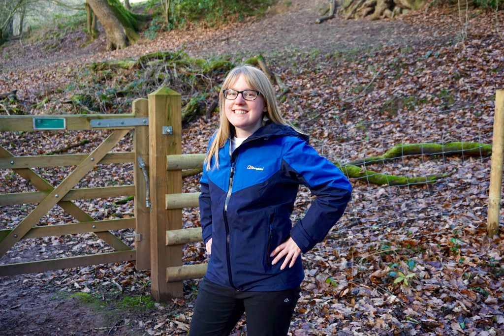 Five Ways to Get Outdoors - Miss Pond Portrait with Berghaus Ridgemaster Jacket