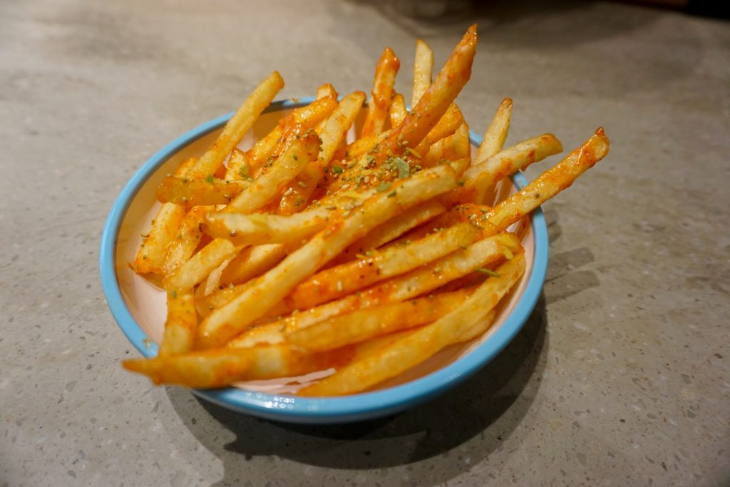 YO! Sushi Blue Plate - Furakake Fries