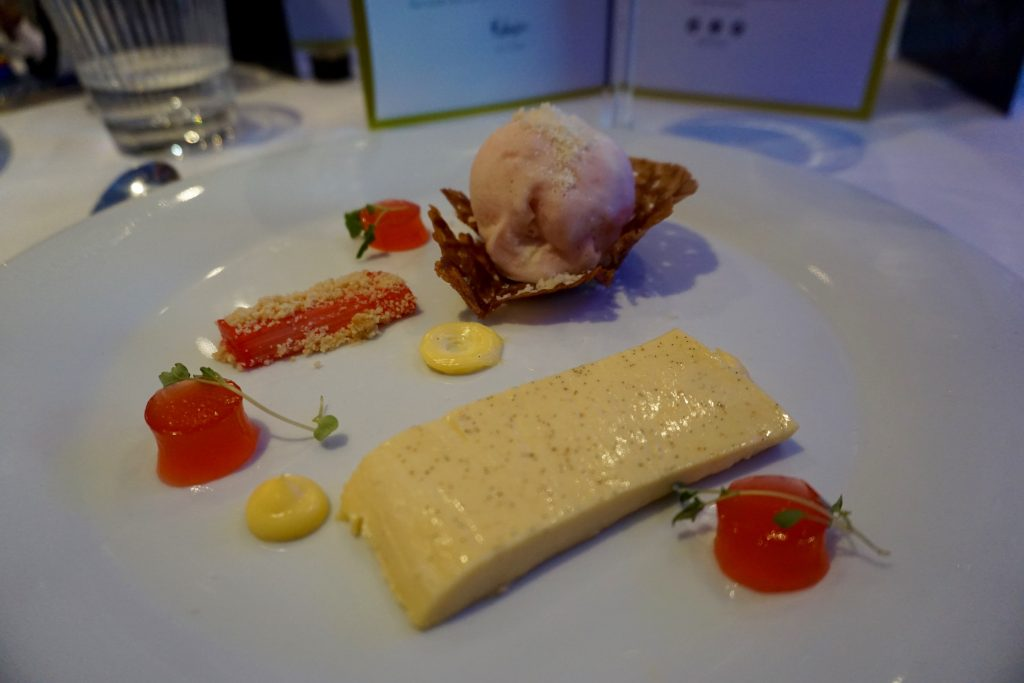 Birmingham-Malmaison-Edinburgh-Gin-Rhubarb-Ginger-Dessert