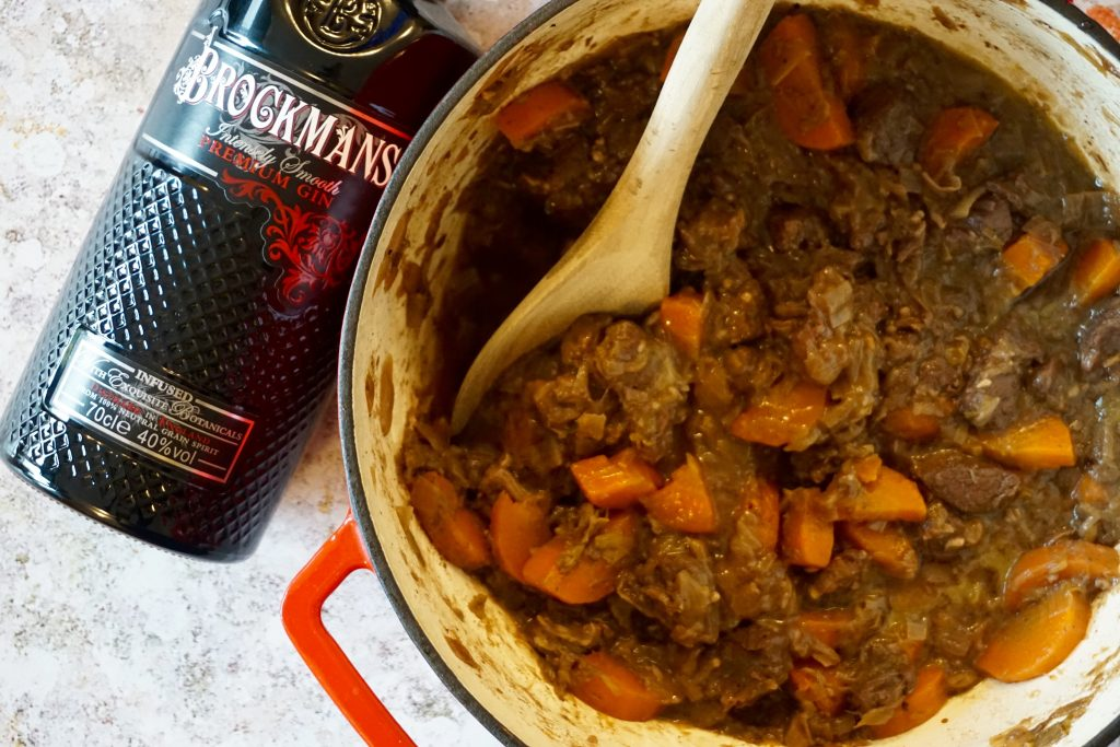 5-Happy-Things-Brockmans-Gin-Venison-Stew