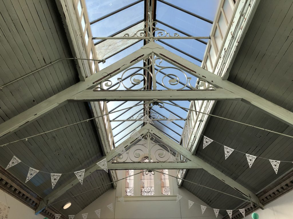 Manchester-Gin-Festival-Bunting-at-Victoria-Baths