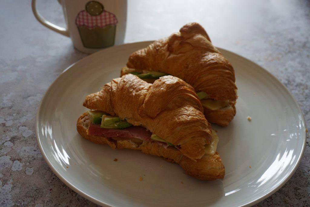 Brunch-Filled-Croissant-Ham-Cheese-Avo