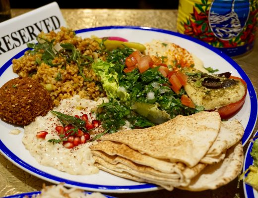 Comptoir-Libanais-Vegetarian-Mezze