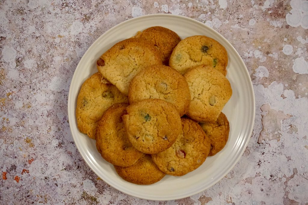 Every-Flavour-Bean-Cookies-On-A-Plate-From-Above