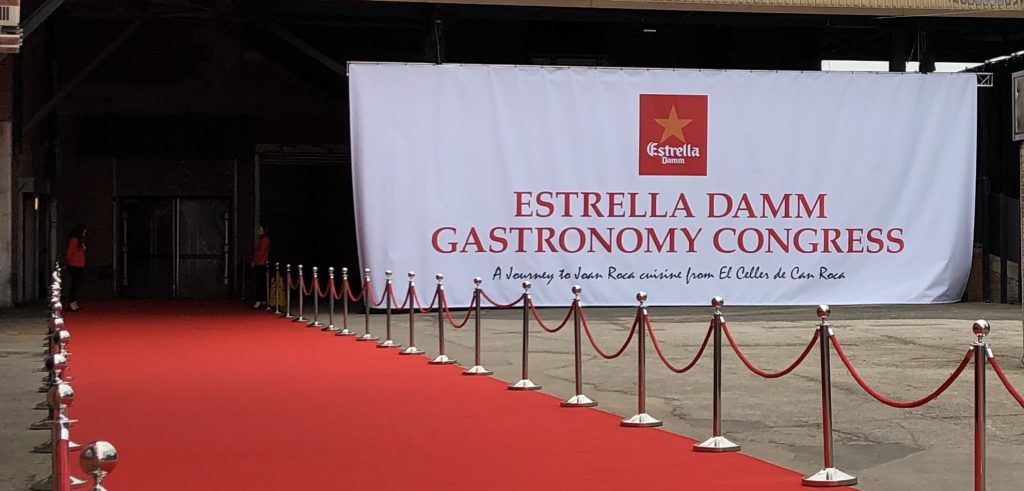 Estrella-Damm-Gastronomy-Congress-Red-Carpet-Entrance