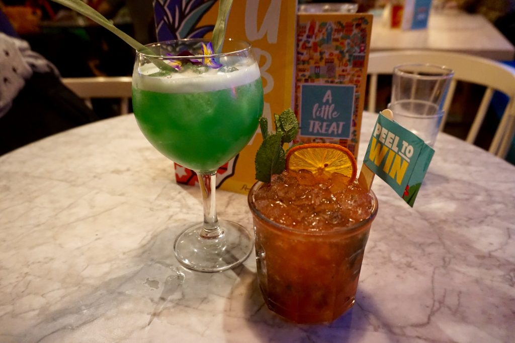 Revolucion de Cuba - Polynesian Punch and Creole Orange Cocktails