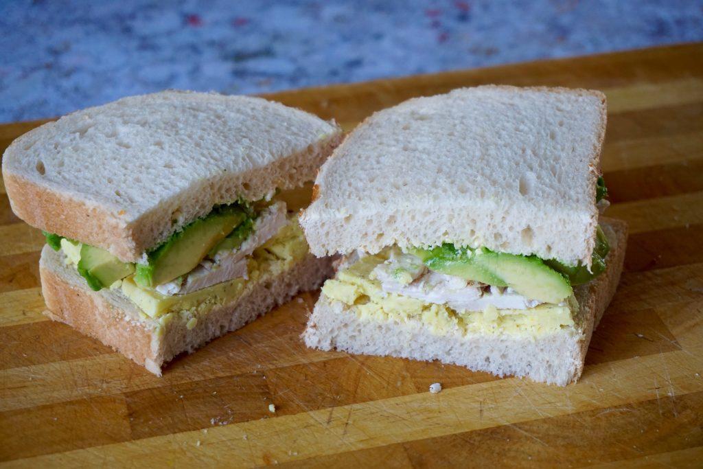 Chicken-Avocado-Snowdonia-Cheese-with-garlic-and-Herbs-sandwich