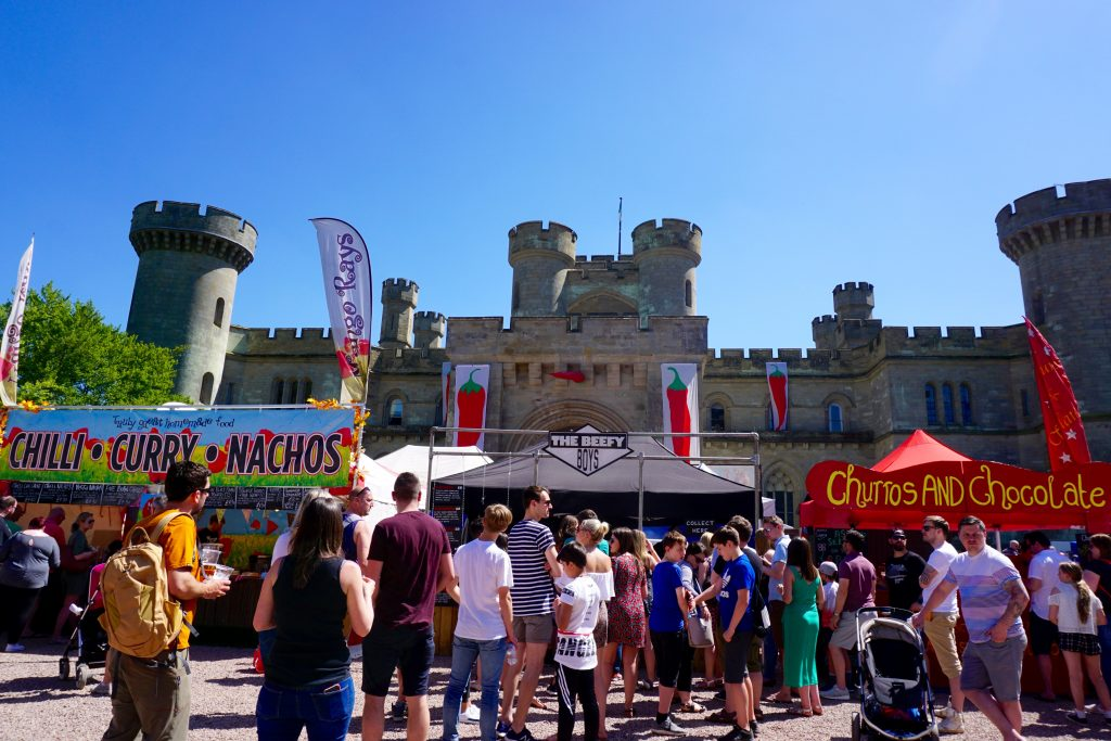 Eastnor-Castle-Chilli-Festival-Food-Stalls