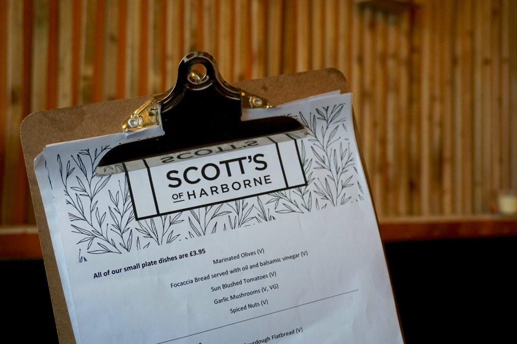 Scotts-of-Harborne-Menu