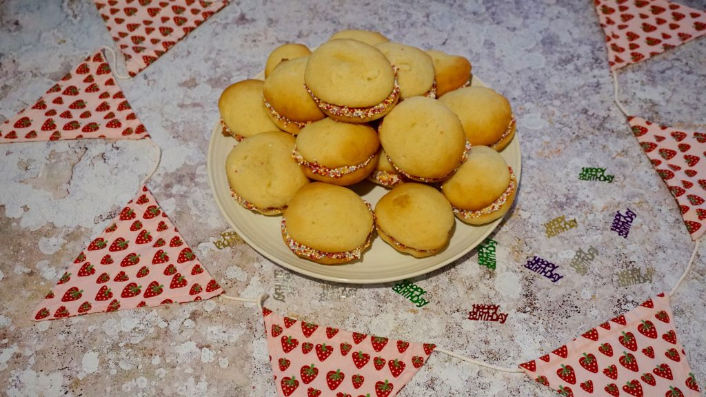 Birthday Cake Whoopie Pies Recipe