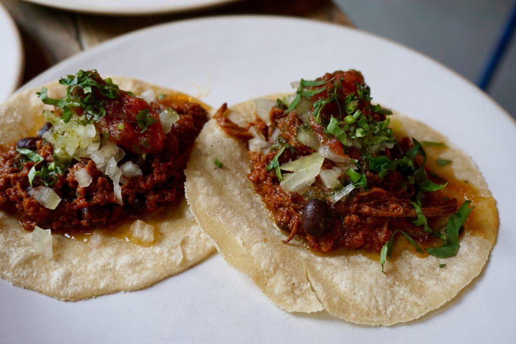Boca Grande at The Plough - Beef Brisket Taco