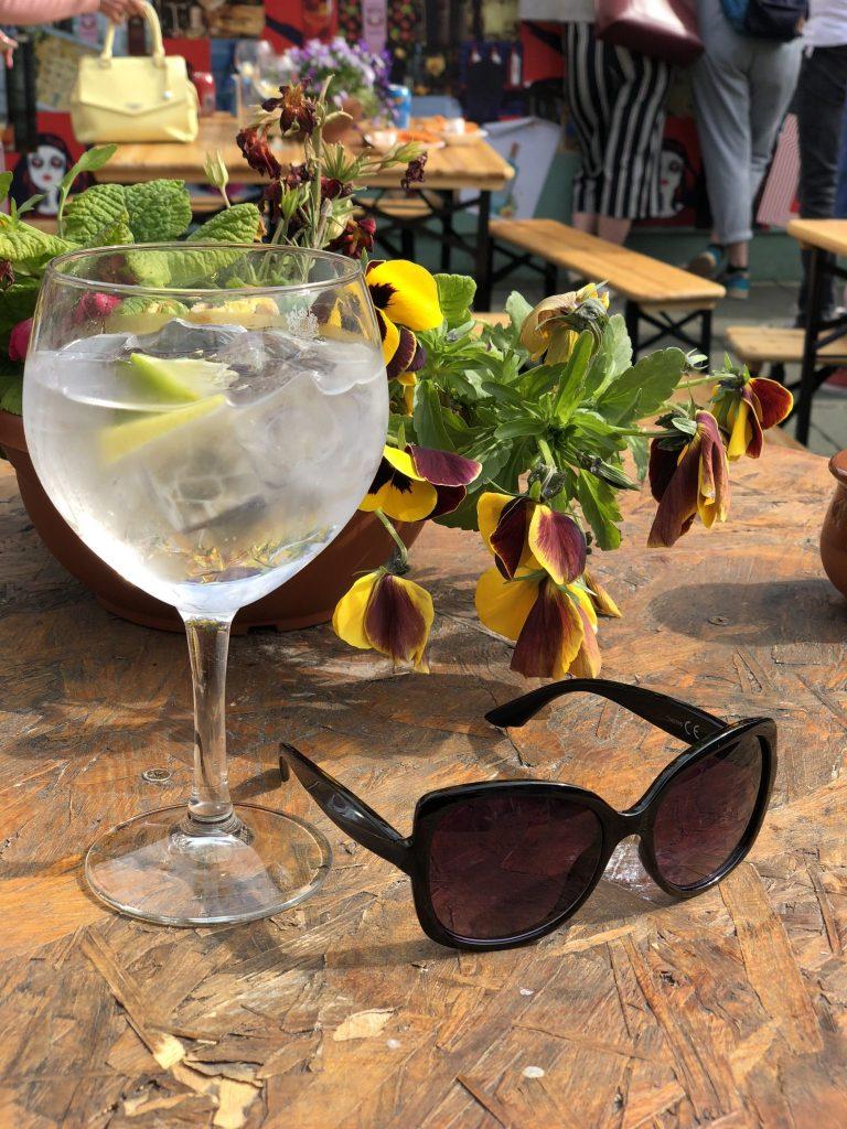 Botanical Gin Garden Liverpool
