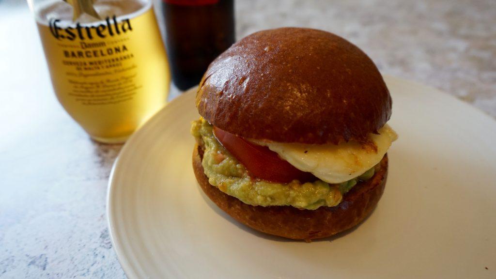 Close-Up-of-Halloumi-Burger-with-Guacamole