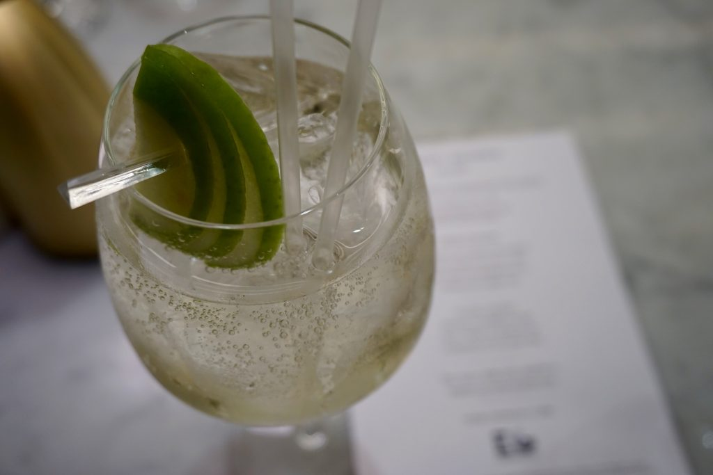 Harvey Nicols Edinburgh Gin Afternoon Tea - Savi Spritz