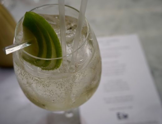 Harvey Nicols Edinburgh Gin Afternoon Tea - Savi Spritz