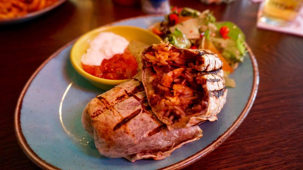 Las-Iguanas-Bottomless-Brunch-Shredded-Beef-Burrito