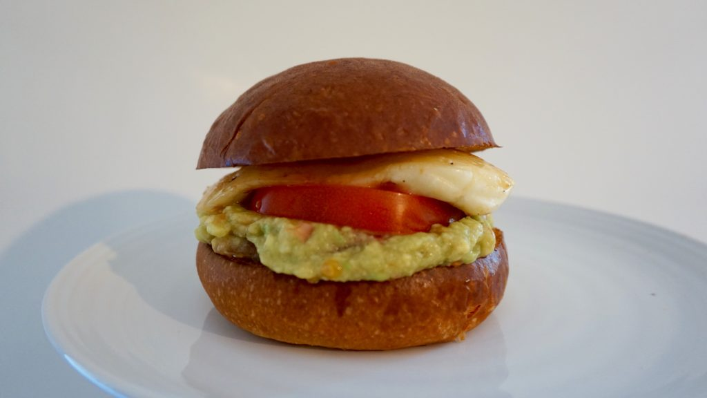 On-plate-Halloumi-Burger-with-Guacamole
