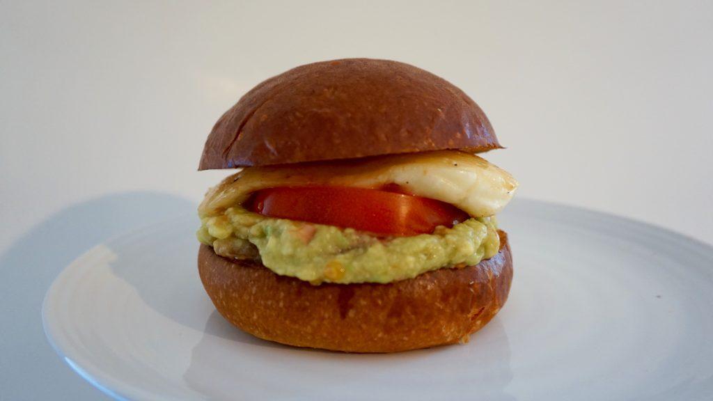 On-plate-Halloumi-Burger-with-Guacamole
