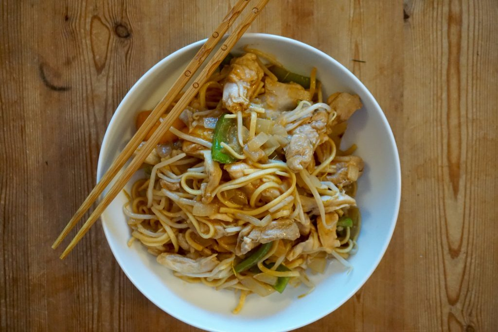 Quick-and-easy-chicken-chow-mein