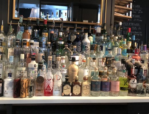 Trippets-Gin-Festival-Gin-Collection-at-Trippets-Bar