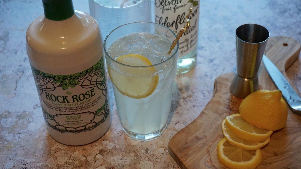 Rock-Rose-Summer-Gin-Lime-and-Elderflower-Collins