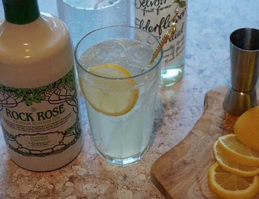 Rock-Rose-Summer-Gin-Lime-and-Elderflower-Collins
