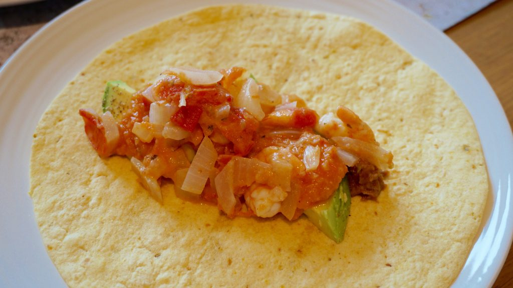 Spicy-Prawn-Taco-With-Corn-Tortilla