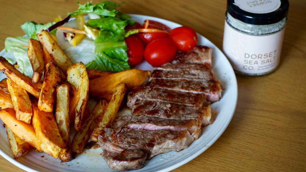 Steaks-with-Dorset-Sea-Salt