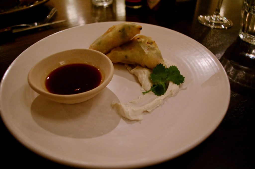 Brasserie-Blanc-spiced-thai-samosas-with-soy-dip