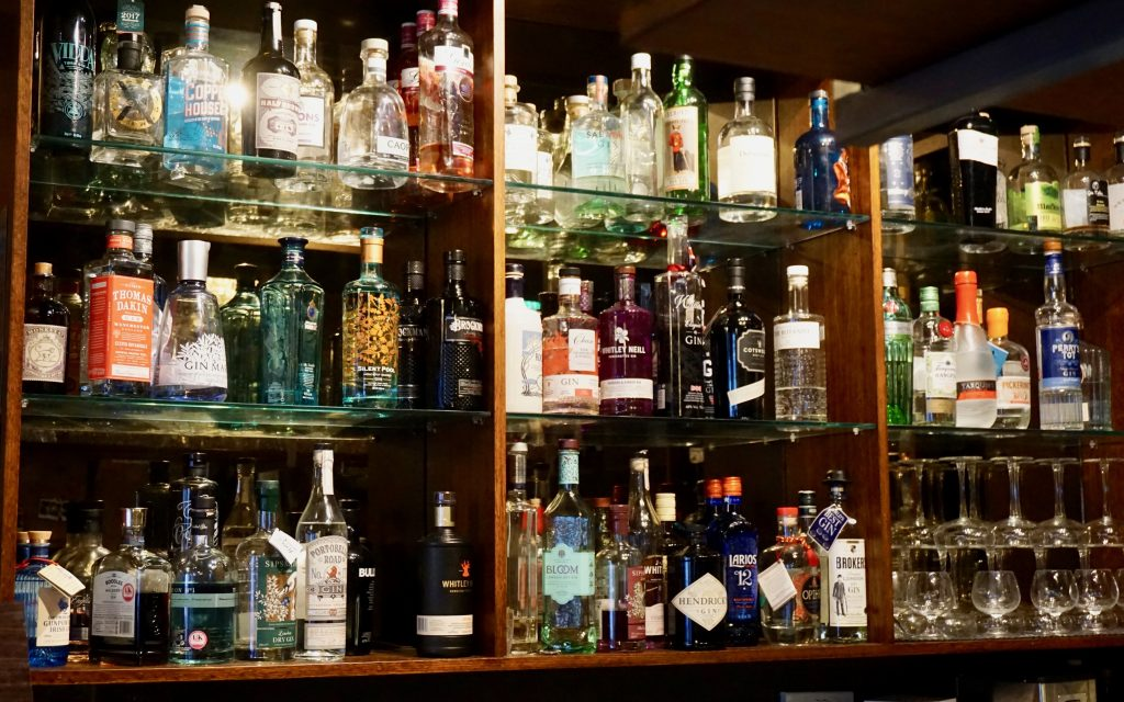 Extensive-Gin-Collection-Simpsons-Bar-Sutton-Coldfield