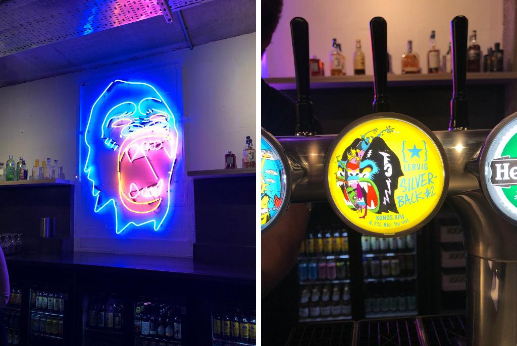 Kongs Birmingnam Sign and Lervig Beer Tap