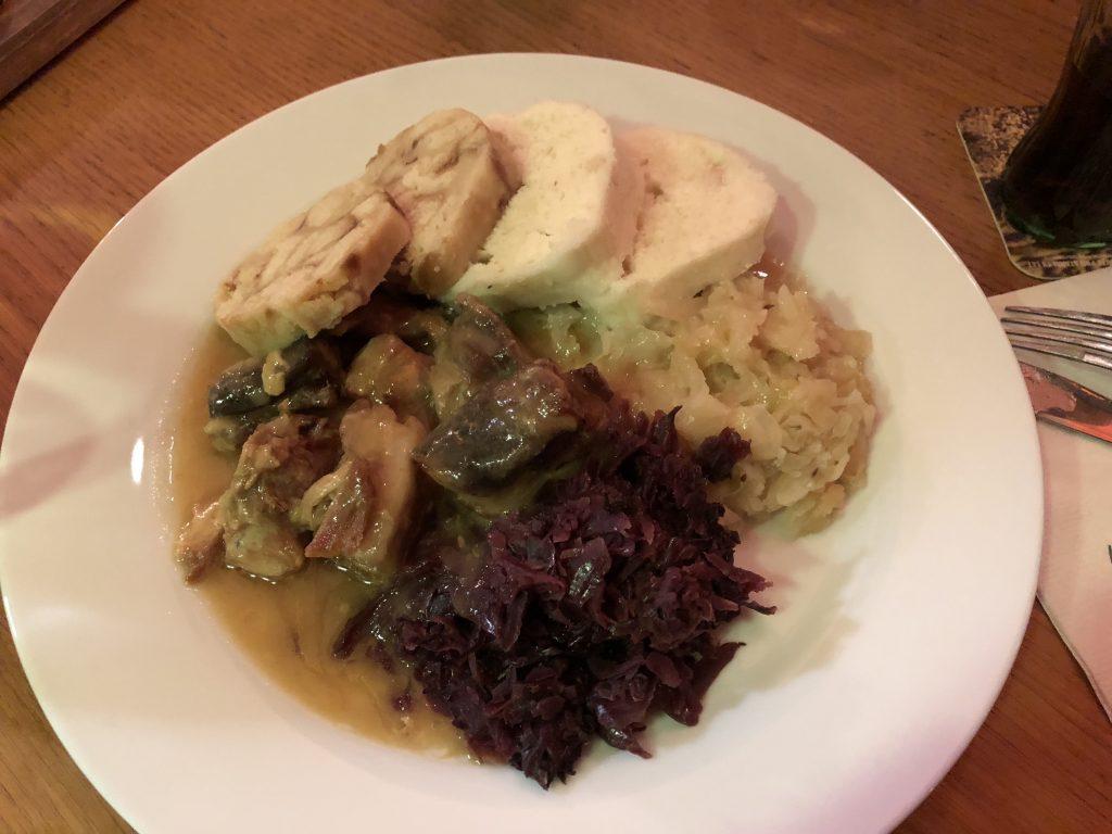 Restaurant Vkolkovne Moldovian Sparrow and Dumplings