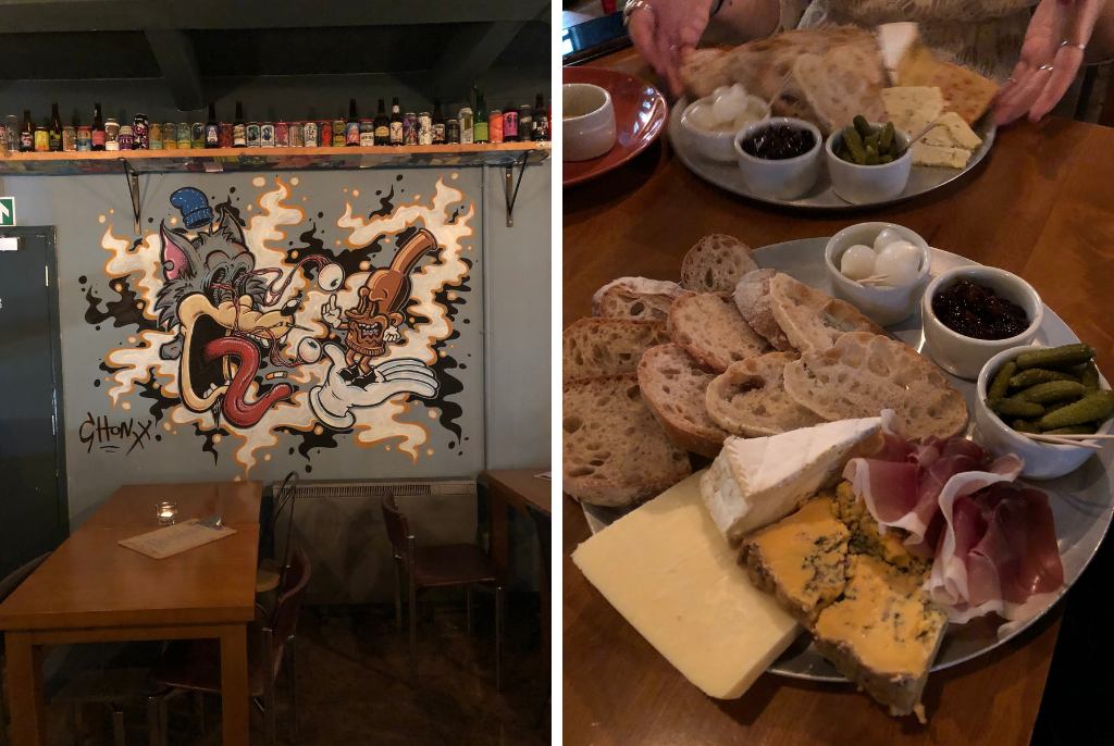 The Wolf Birmingham Cheese Board