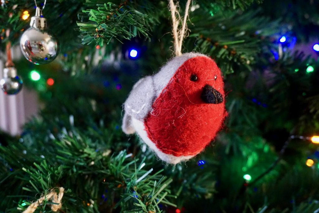 Robin-Christmas-Decoration